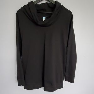 Cowlneck Maternity Sweatshirt